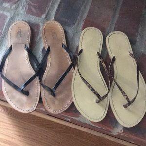 Jcrew flip flops